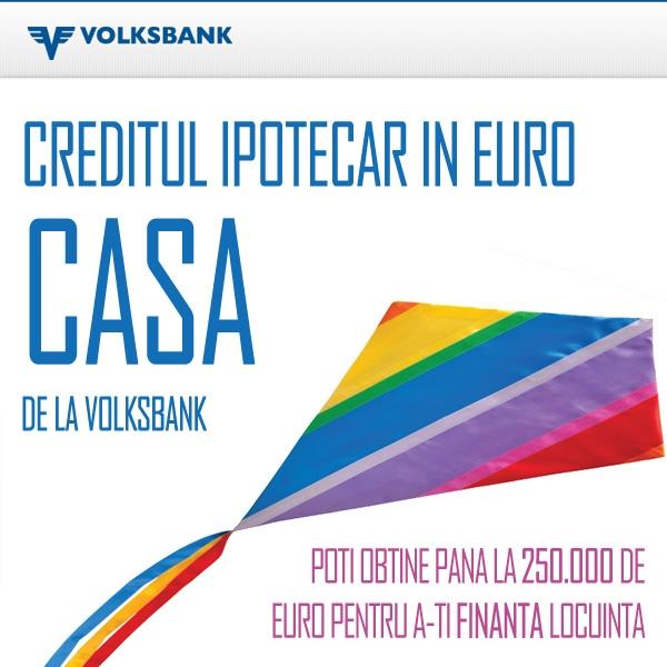 Poza Creditul ipotecar in euro CASA de la Volksbank