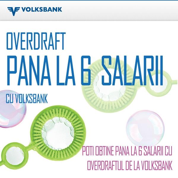 Poza Poti obtine pana la 6 salarii cu Overdraftul de la Volksbank