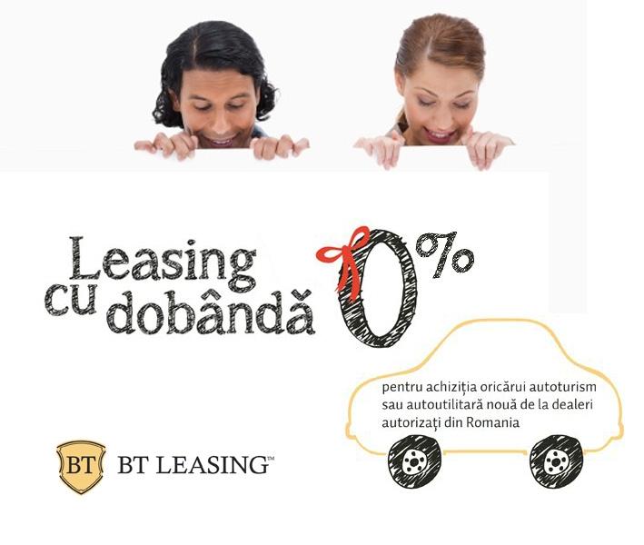 Poza Leasingul cu dobanda 0 de la BT Leasing