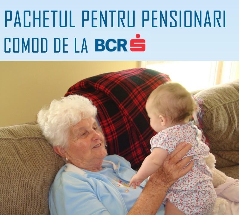 Poza Pachetul pentru pensionari de la BCR - COMOD BCR