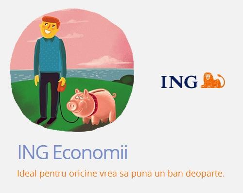 Poza Depozit de economii de la ING cu dobanda de 5.5% pe an