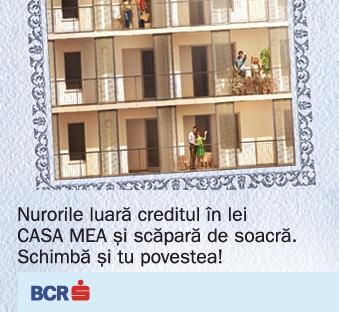 Poza BCR vine cu o solutie pentru cei ce doresc obtinerea de credite ipotecare