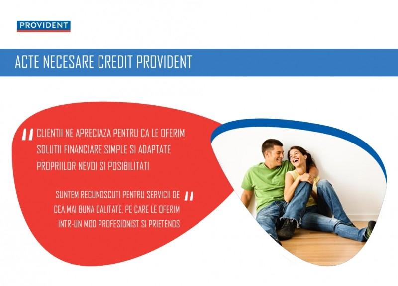 Poza De ce acte am nevoie pentru creditul PROVIDENT
