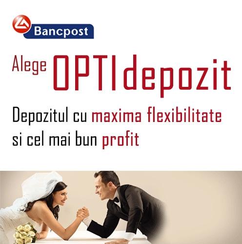 Poza Depozitul OPTIdepozit de la Bancpost. Beneficiari. Caracteristici. Constituire