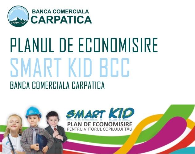 Poza Planul de economisire pentru copii Smart Kid de la Banca Comerciala Carpatica