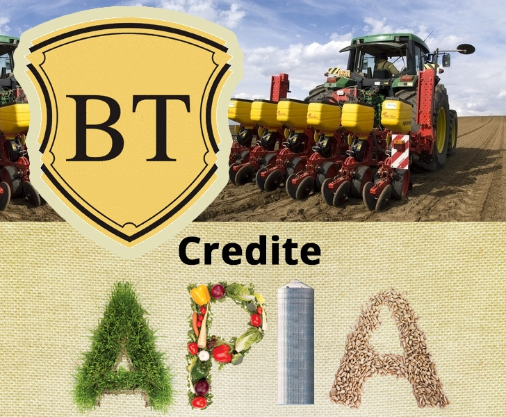 Poza Creditul APIA oferit de BT Banca Transilvania. Conditii de eligibilitate