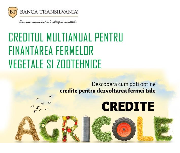 Poza Creditul multianual pentru finantarea fermelor vegetale si zootehnice