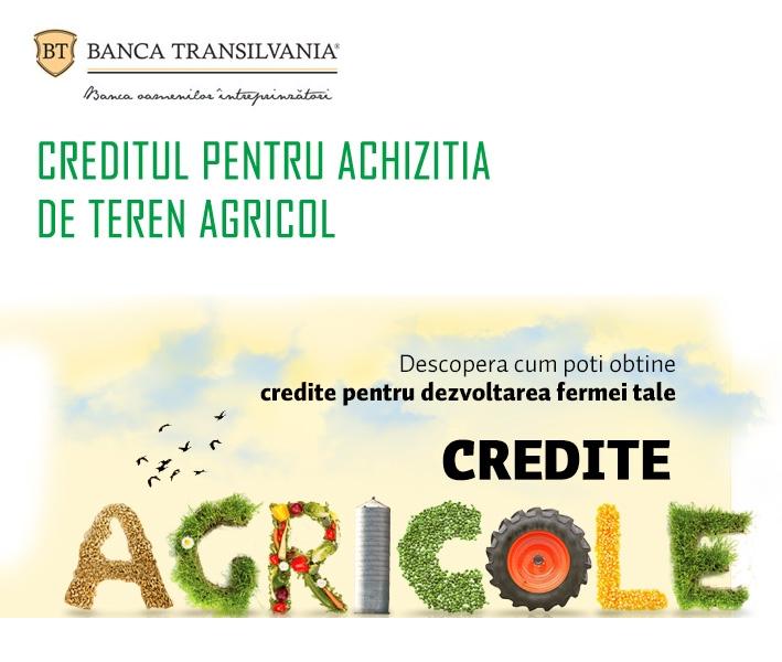 Poza Creditul pentru achizitia de teren agricol