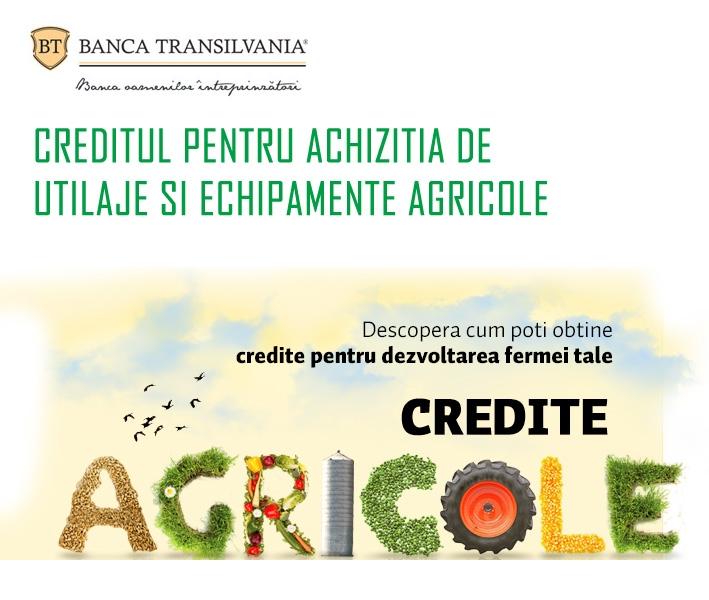 Poza Creditul pentru achizitia de utilaje si echipamente agricole