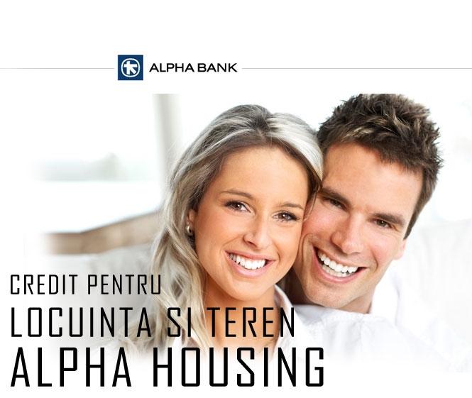 Poza Creditul pentru locuinta si teren de la Alpha Bank - Alpha Housing