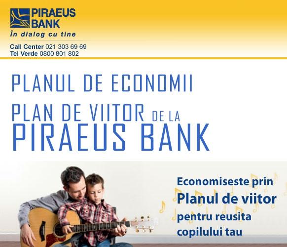 Poza Planul de economii Plan de viitor de la Piraeus Bank