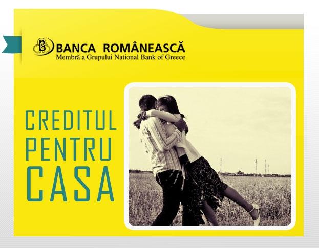 Poza Creditul pentru casa de la Banca Romaneasca