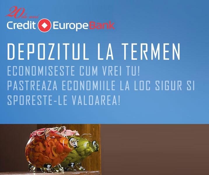 Poza Depozitul la termend de la Credit Europe Bank