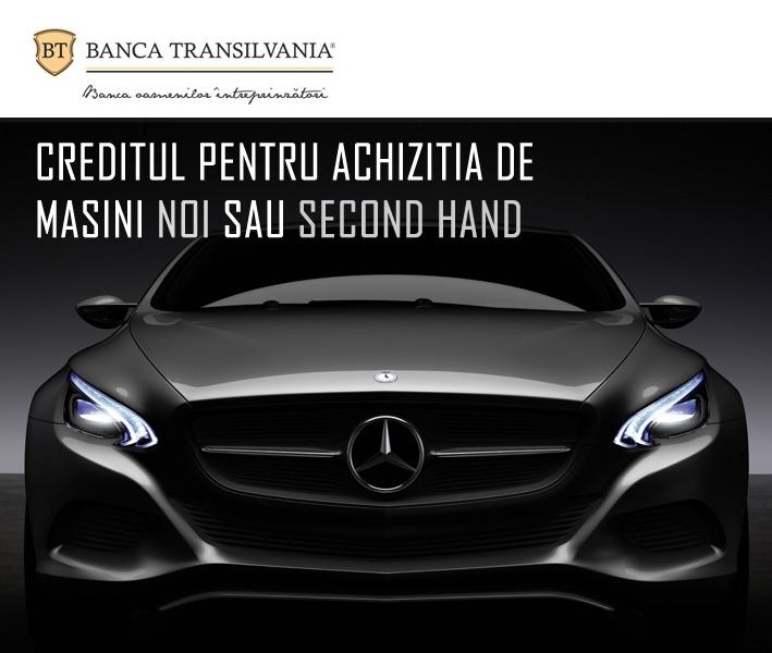 Poza Creditul auto de la Banca Transivania. Indeplinesti conditiile? Cat costa?