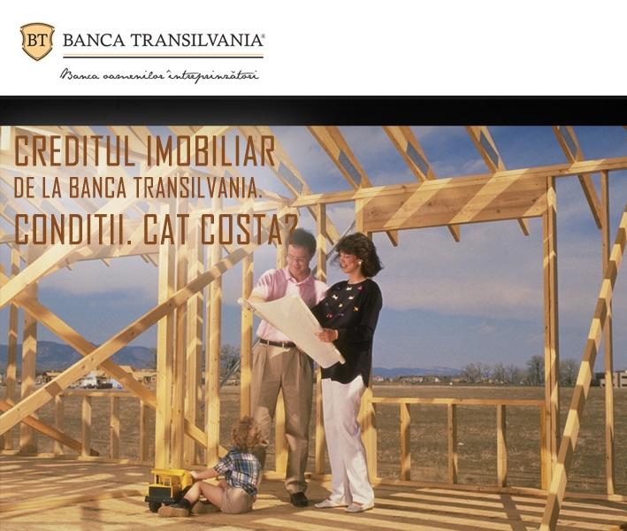 Poza Creditul imobiliar de la Banca Transilvania. Conditii. Cat costa?