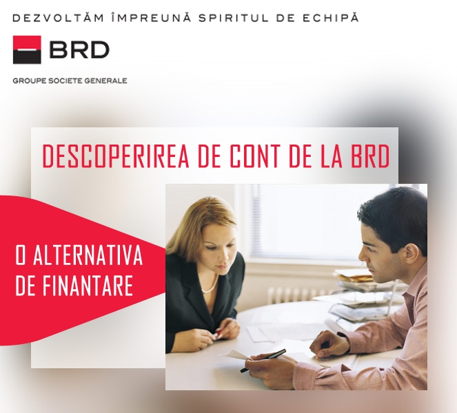 Poza Descoperirea de cont de la BRD - o alternativa de finantare