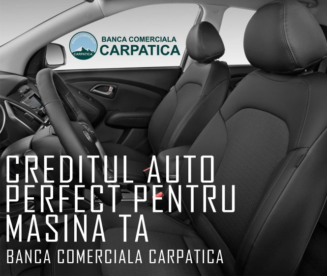 Poza Alege creditul perfect pentru masina ta! de la Banca Comerciala Carpatica